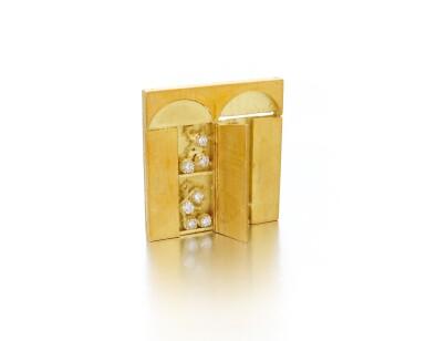 View 6. Thumbnail of Lot 124. Diamond necklace, Dimora (Collana con diamanti, Dimora).