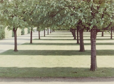 View 1. Thumbnail of Lot 76.  DAVID HOCKNEY  | 'HERRENHAUSEN, HANNOVER', MAY 1970 (FROM THE PORTFOLIO TWENTY PHOTOGRAPHIC PICTURES).