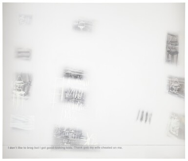 View 1. Thumbnail of Lot 844. RICHARD PRINCE   UNTITLED (CHEATED).