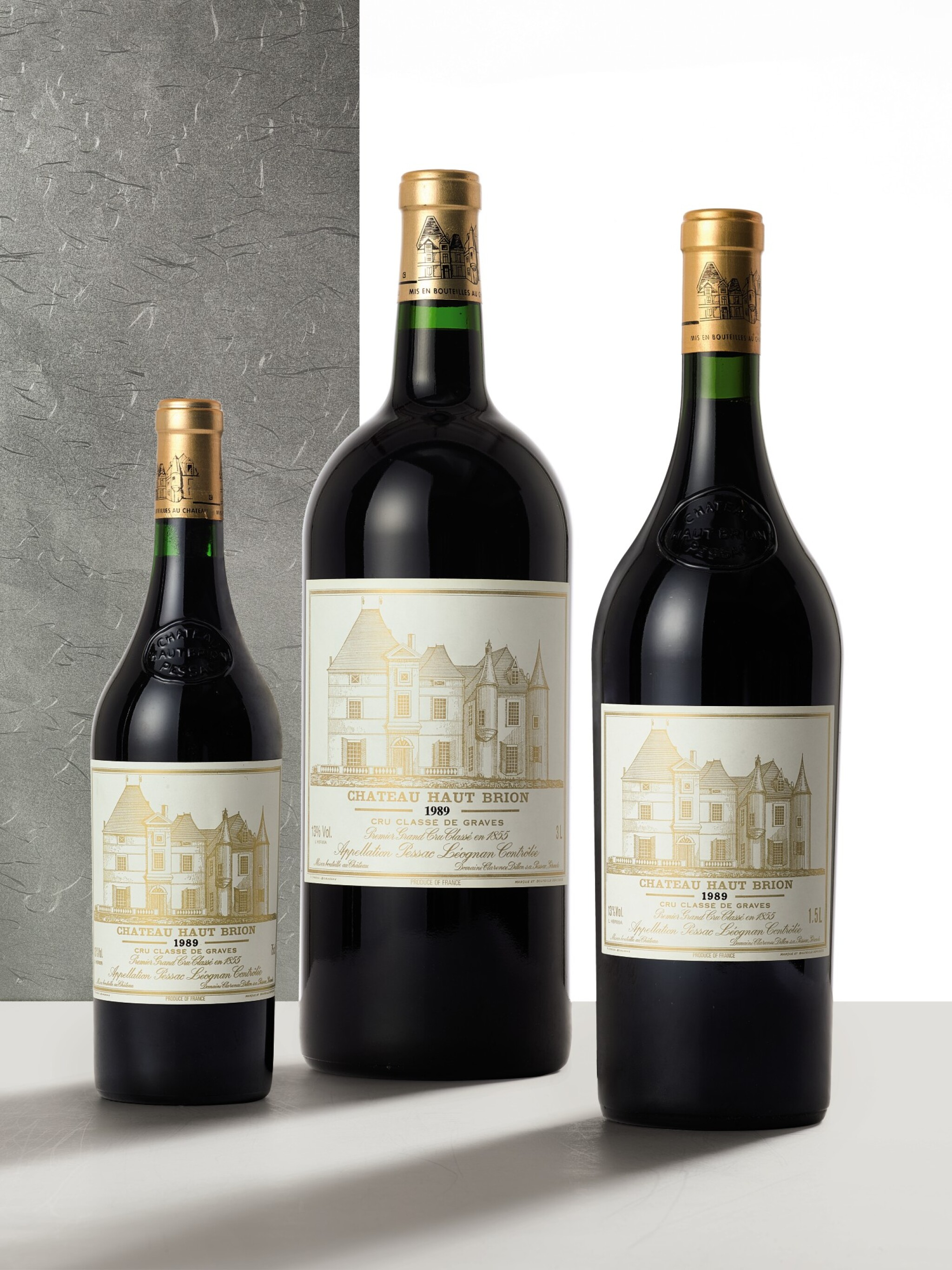 View full screen - View 1 of Lot 3009.  Château Haut Brion 1989  (1 DM).
