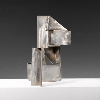 View 4. Thumbnail of Lot 655. SIR ANTHONY CARO, R.A. | STAINLESS PIECE A-G.