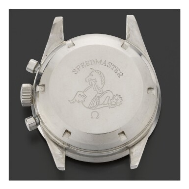 View 2. Thumbnail of Lot 27. OMEGA |  SPEEDMASTER REF 105.002-62 SC, A STAINLESS STEEL CHRONOGRAPH WRISTWATCH, MADE IN 1963.