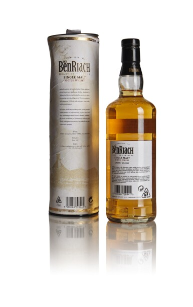 View 2. Thumbnail of Lot 207. THE BENRIACH ORIGINAL BOTTLING 33 YEAR OLD 49.0 ABV 1972 .
