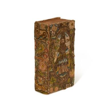 BIBLE | 1645, embroidered binding