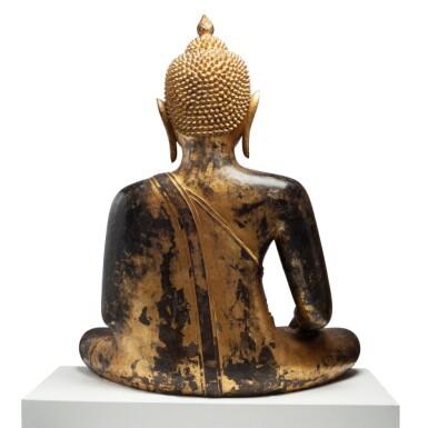 View 4. Thumbnail of Lot 63. Thailand, Ayutthaya Period, 16th/17th century   Seated Buddha.