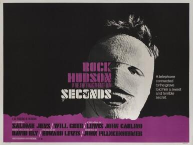 SECONDS (1966) POSTER, BRITISH