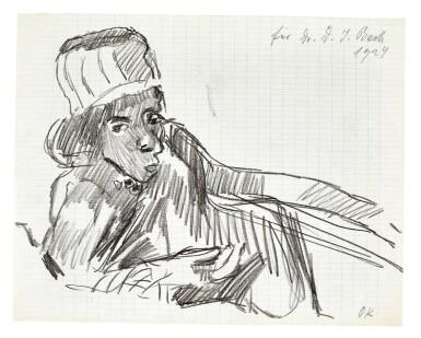 View 11. Thumbnail of Lot 92. Vienna. Autograph manuscripts by Bartok, Berg, Schoenberg, Strauss, Webern, Kokoschka, Schnitzler etc to D.J. Bach, 1924.