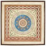 Robert Adam, watercolour design for a carpet, 1760