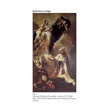 View 5. Thumbnail of Lot 61.  GIOVANNI BATTISTA TIEPOLO |  MADONNA OF THE ROSARY WITH ANGELS.
