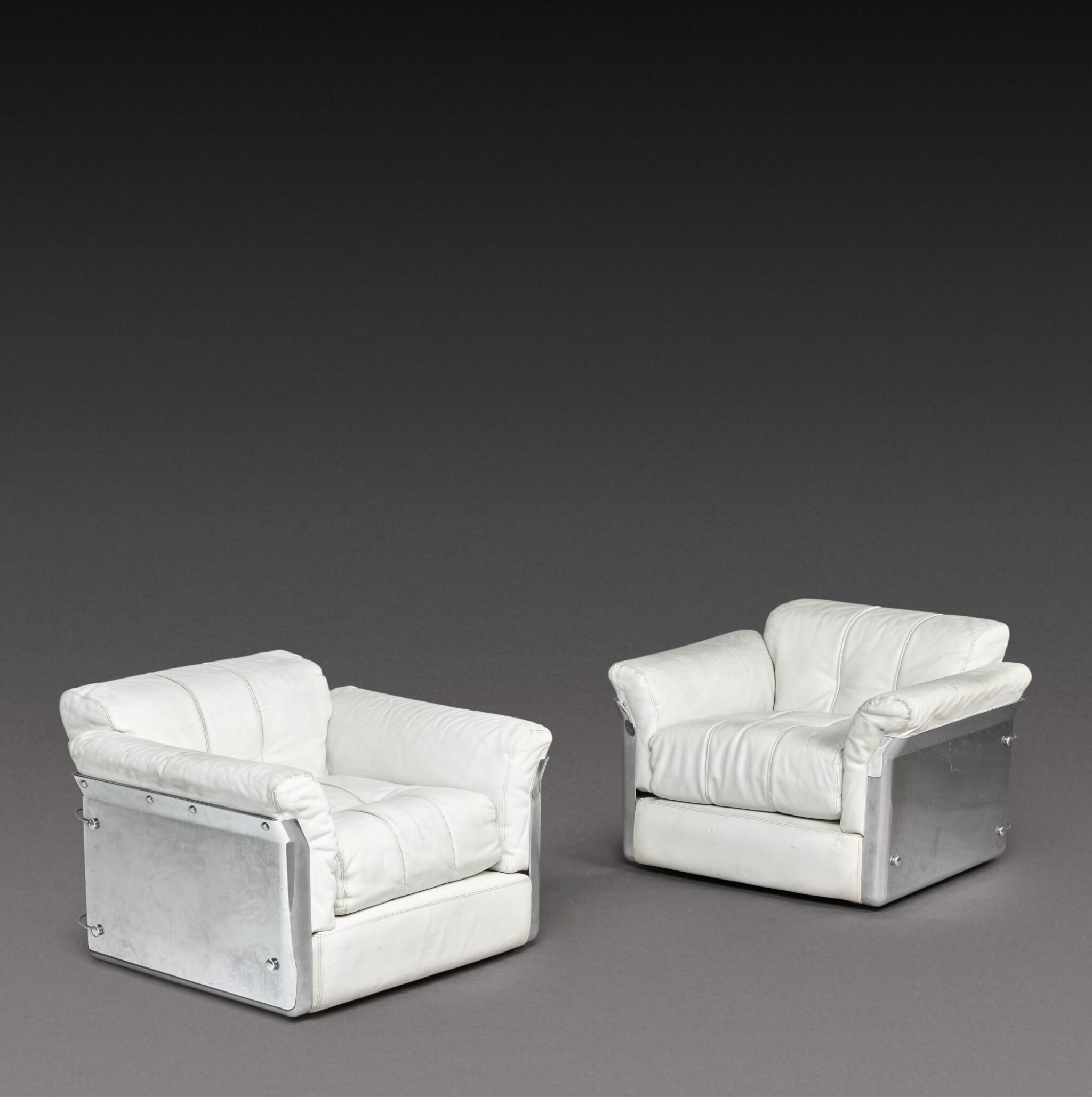 View 1 of Lot 190. A Pair of Larissa Armchairs.