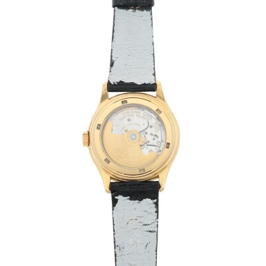 View 5. Thumbnail of Lot 28. REFERENCE 5035 A PINK GOLD ANNUAL CALENDAR WRISTWATCH WITH 24-HOUR INDICATION, MADE IN 1998.