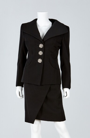 View 1. Thumbnail of Lot 39. Haute Couture Suit Ensemble, Fall/Winter Collection, 1989.