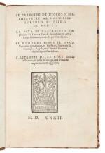 Machiavelli, Il Principe, Florence, 1532, later Danish half calf