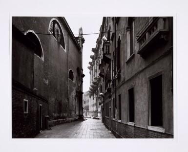 View 9. Thumbnail of Lot 36. 'Clinton Road', Murdock Cottages, London, 1977; 'Panorama 2', Beaugrenelle, Paris, 1979; 'Gereonswall', Koln, 1980; 'Calle Tintoretto', Venezia, 1990.