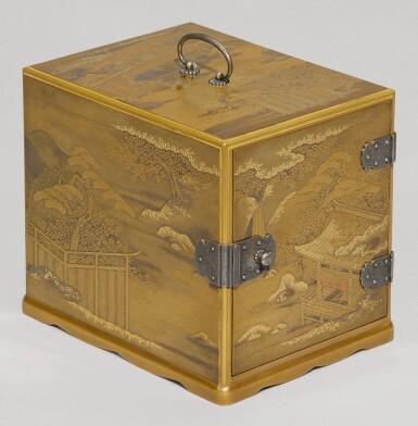A GOLD LACQUER KODANSU [CABINET], MEIJI PERIOD, LATE 19TH-20TH CENTURY