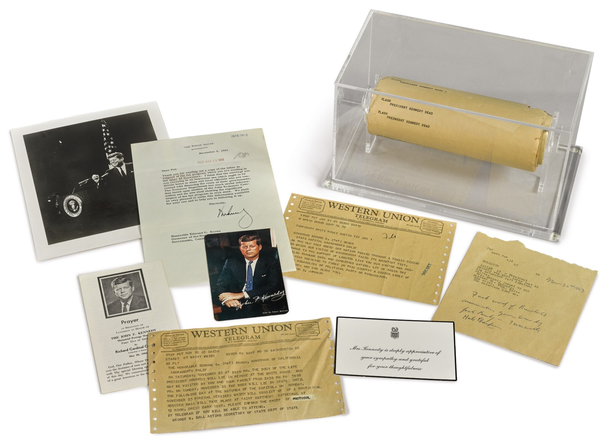 View full screen - View 1 of Lot 2188. Kennedy, John F. An archive of material pertaining to the assassination of President Kennedy.