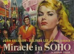 Miracle in Soho (1957) poster, British