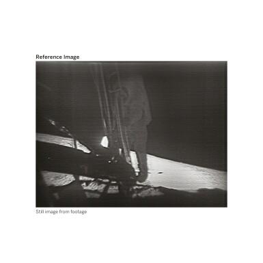 View 5. Thumbnail of Lot 104. [APOLLO 11]. ORIGINAL, FIRST-GENERATION NASA VIDEOTAPE RECORDINGS OF THE APOLLO 11 LUNAR EVA.