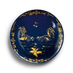 A RARE MEISSEN POWDER-BLUE-GROUND SAUCER CIRCA 1730