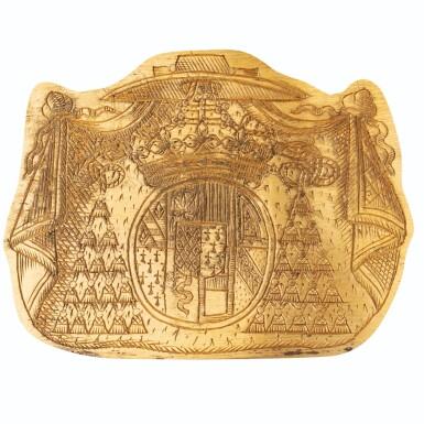 View 2. Thumbnail of Lot 20. PAIR OF GOLD COPPER POTS, REGENCE | PAIRE DE CACHE-POTS EN CUIVRE DORÉ D'ÉPOQUE RÉGENCE..