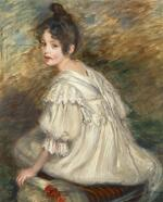 JACQUES-ÉMILE BLANCHE | Fille à la robe blanche