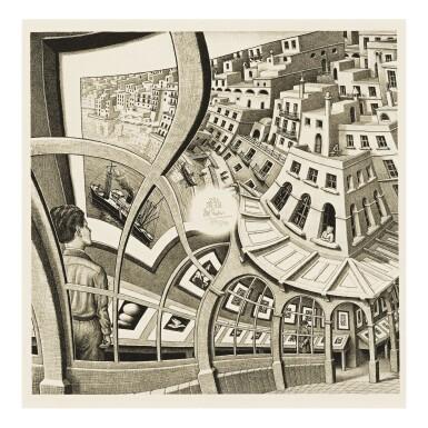View 1. Thumbnail of Lot 96. M. C. ESCHER | PRINT GALLERY (B./K./L./W. 410).