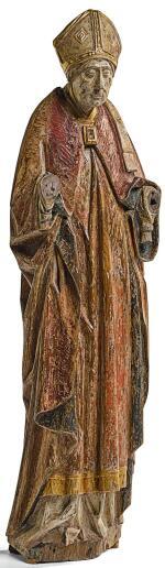 SOUTHERN NETHERLANDISH, ANTWERP, CIRCA 1460-1470 | BISHOP SAINT