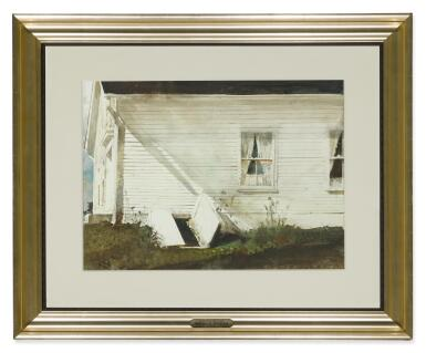 View 2. Thumbnail of Lot 5. ANDREW WYETH | ELSIE'S HOUSE.