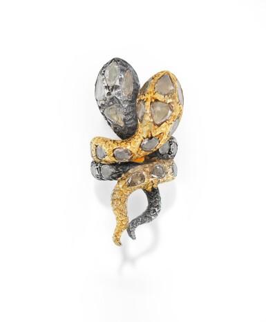 BAGUE DIAMANTS, CODOGNATO |  DIAMOND RING, CODOGNATO