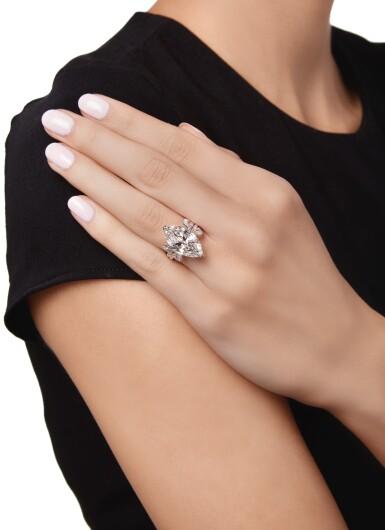 View 3. Thumbnail of Lot 601. DIAMOND RING, VERDURA   鑽石戒指,Verdura.