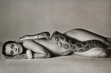 View 1. Thumbnail of Lot 141. RICHARD AVEDON | 'NASTASSJA KINSKI AND THE SERPENT', LOS ANGELES, CALIFORNIA, 1981.