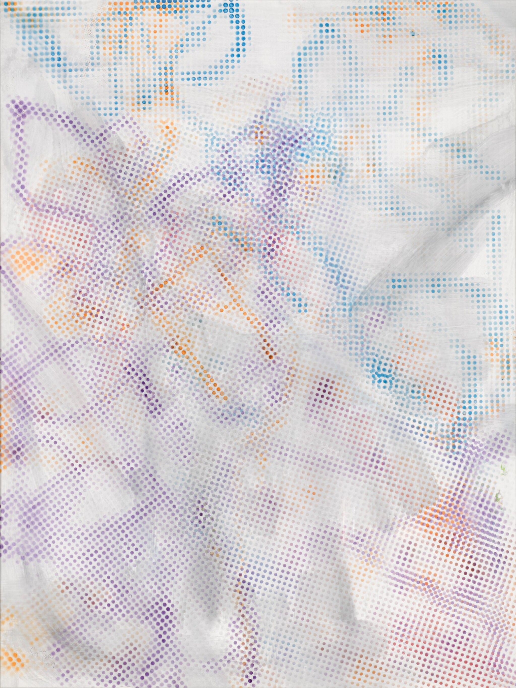 View full screen - View 1 of Lot 217. SIGMAR POLKE | UNTITLED.