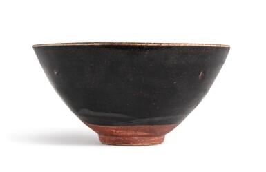 View 3. Thumbnail of Lot 102. A 'Jizhou' 'papercut' bowl, Southern Song dynasty | 南宋 吉州窰剪紙貼花梅花紋盌.