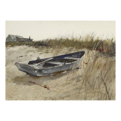 View 1. Thumbnail of Lot 2. ANDREW WYETH | ABOVE THE TIDE.