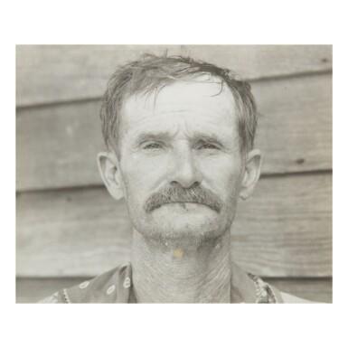WALKER EVANS | WILLIAM EDWARD (BUD) FIELDS, A COTTON SHARECROPPER, HALE COUNTY, ALABAMA, SUMMER 1936