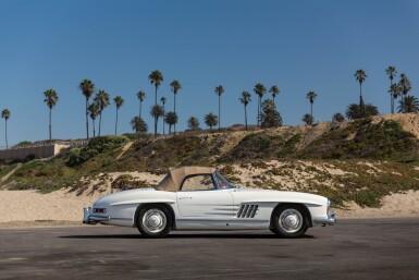 View 72. Thumbnail of Lot 65. 1960 Mercedes-Benz 300SL Roadster.