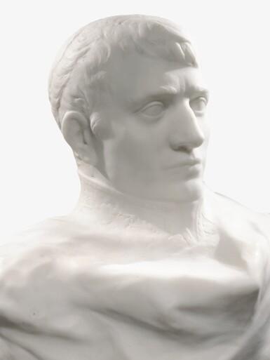 View 2. Thumbnail of Lot 1016. Auguste Rodin 奧古斯特・羅丹 | Napoléon Enveloppé dans Son Réve 逐夢的拿破崙.