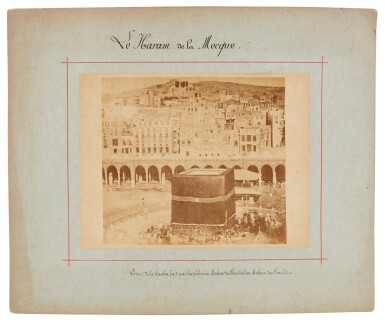 View 7. Thumbnail of Lot 103. Mecca-after Muhammad Sadiq Bey | A collection of seven photographs of Mecca, circa 1880s.