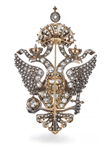View 3. Thumbnail of Lot 166. Important diamond brooch, late 19th century | 鑽石別針,十九世紀末.