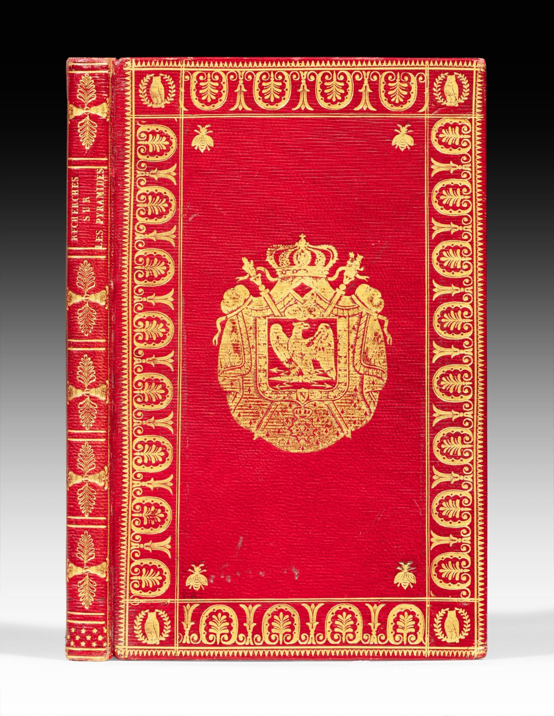 View full screen - View 1 of Lot 59. Nouvelles recherches... Paris, 1812. Exemplaire de présent aux armes de Napoléon Ier.