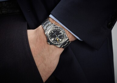View 4. Thumbnail of Lot 63. ROLEX   STEVE MCQUEEN EXPLORER II , REFERENCE 1655, STAINLESS STEEL DUAL-TIME WRISTWATCH WITH DATE AND BRACELET, CIRCA 1984.