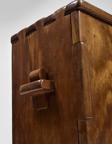 View 3. Thumbnail of Lot 280. ALEXANDRE NOLL | AN IMPORTANT TWO-DOOR CABINET.