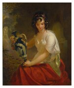 EMANUEL GOTTLIEB LEUTZE   NYDIA, THE BLIND GIRL OF POMPEII