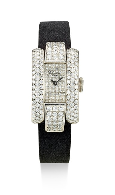 View 1. Thumbnail of Lot 9166. DIAMOND WRISTWATCH, 'LA STRADA', CHOPARD   鑽石腕錶, 'La Strada', 蕭邦 ( Chopard ).