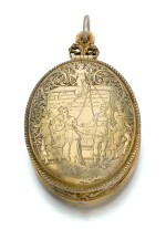 PHILIPPE MILLOT, FRENCH, PARIS OR DIJON, 1619   DOUBLE SIDED CASE FOR MINIATURES