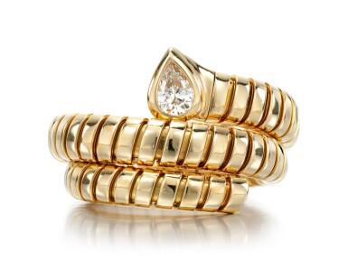 DIAMOND RING, 'TUBOGAS', BULGARI