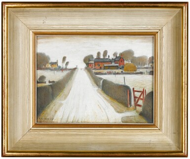 View 2. Thumbnail of Lot 624. LAURENCE STEPHEN LOWRY, R.A. | FYLDE FARM.