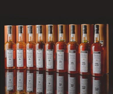 View 1. Thumbnail of Lot 369. BRORA FIRST ANNUAL RELEASE 30 YEAR OLD 52.4 ABV NV .