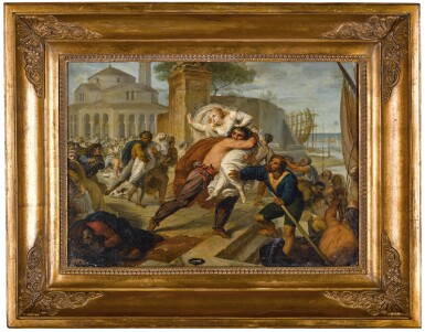 View 3. Thumbnail of Lot 179. The abduction of the Venetian wives.