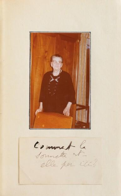 View 4. Thumbnail of Lot 295. Du côté de chez Swann. 1913. Ed originale. Exemplaire de Céleste Albaret/Jacques Guérin. + 2 billets autographes.